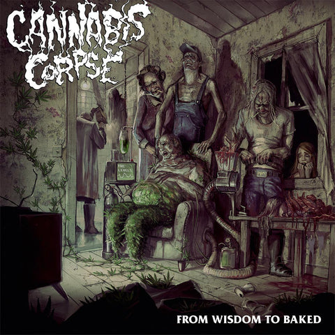 Cannabis Corpse From Wisdom to Baked LP vinyl