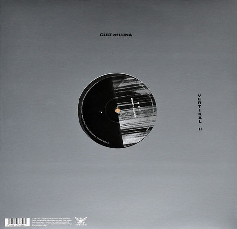 "Cult of Luna - Vertikal II 12"" EP on black vinyl"