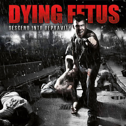 Dying Fetus Descend Into Depravity LP Black vinyl