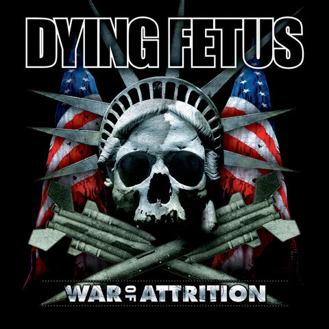 Dying Fetus War of Attrition LP Black vinyl