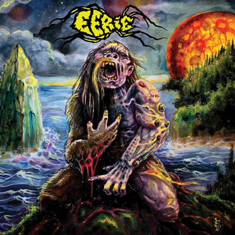 Eerie Self Titled LP on Green vinyl + book and download