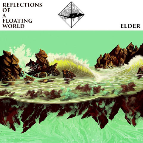 Elder Reflections of A Floating World 2LP Seafoam Green vinyl