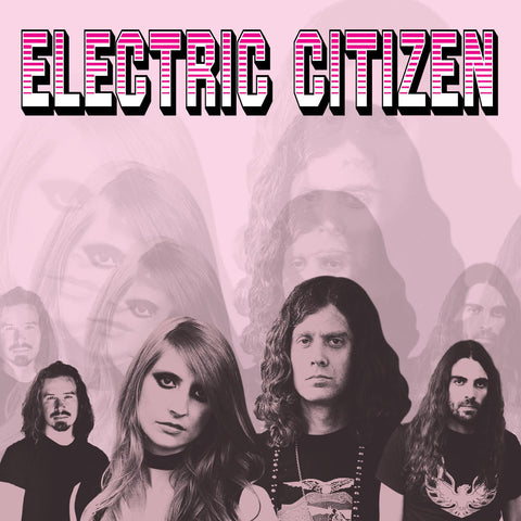 Electric Citizen Higher Time LP Pink vinyl