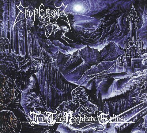 Emperor - In the Nightside Eclipse 2LP vinyl in a gatefold sleeve
