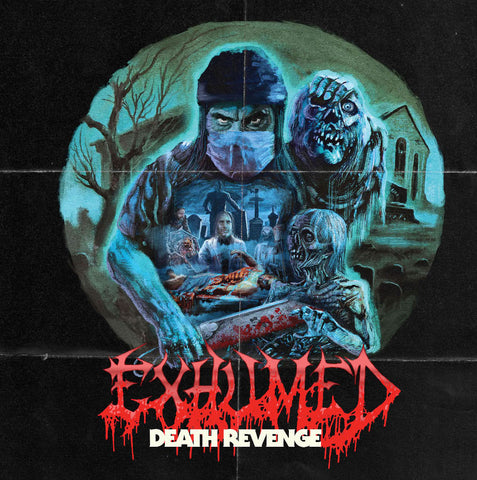 Exhumed Death Revenge LP Black vinyl + Download