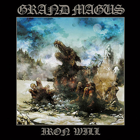 Grand Magus - Iron Will LP on Silver Marbled vinyl