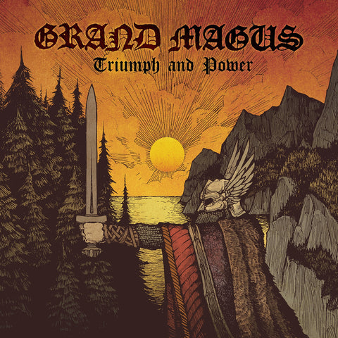 Grand Magus Triumph and Power LP 180gm vinyl in a Gatefold sleeve including poster