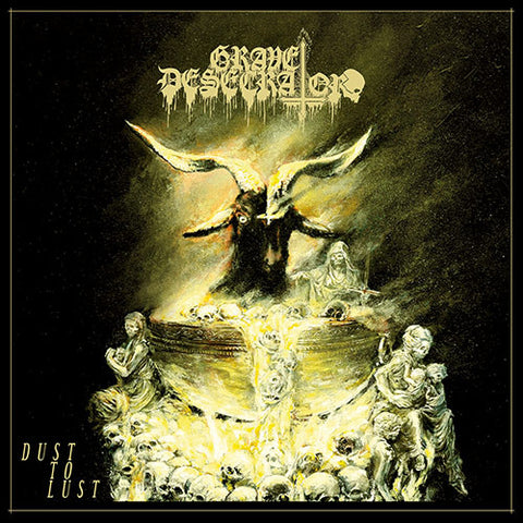 Grave Desecrator Dust To Lust LP Yellow vinyl