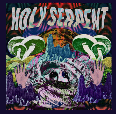 Holy Serpent Self Titled LP on Black vinyl