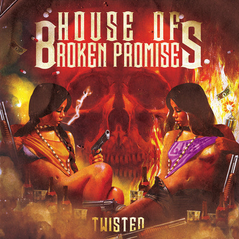 House of Broken Promises Twisted LP LTD coloured vinyl
