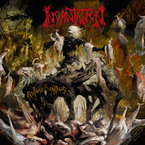 Incantation Profane Nexus LP vinyl + Download code