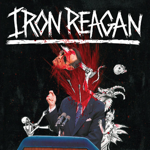 Iron Reagan The Tyranny of Will LP vinyl + poster
