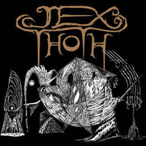 "Jex Thoth Witness 12"" EP vinyl"