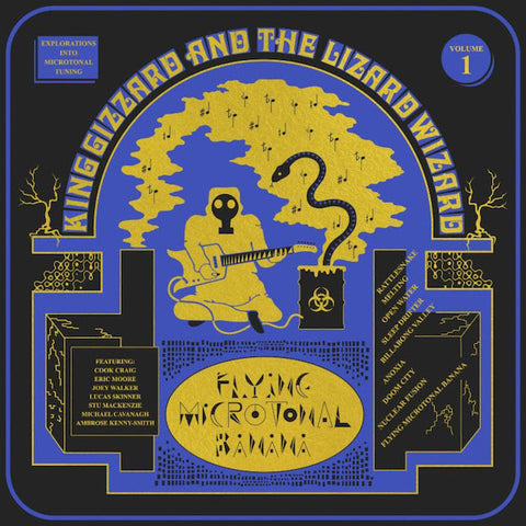 King Gizzard and the Lizard Wizzard - Flying Microtonal Banana LP vinyl + download