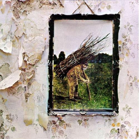 Led Zeppelin - IV LP on 180gm vinyl in a gatefold sleeve