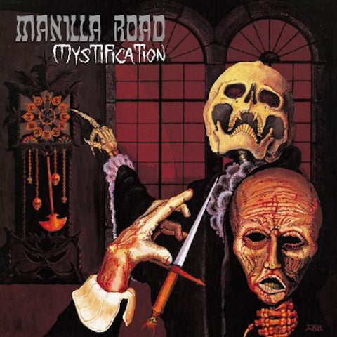 Manilla Road Mystification LP Deluxe Clear vinyl