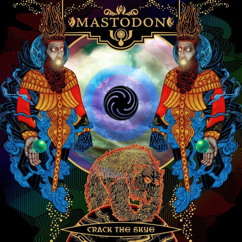 Mastodon Crack the Skye LP light blue vinyl
