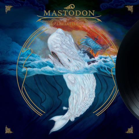 Mastodon Leviathan LP + Download Code Gatefold on Black vinyl