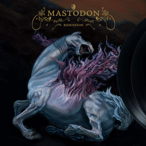 Mastodon Remission 2LP + Download Code on Black vinyl