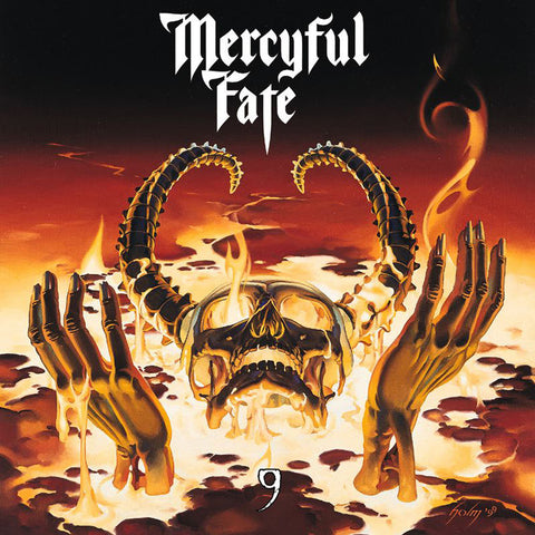 Mercyful Fate 9 LP 180gm black vinyl + poster