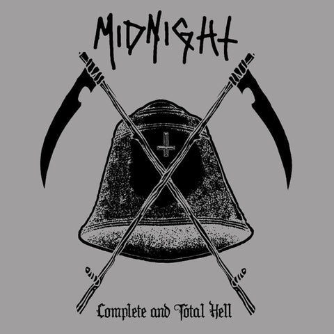 Midnight Complete and Total Hell 2LP Splatter vinyl in gatefold sleeve
