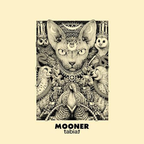 Mooner Tabiat LP on Ivory vinyl