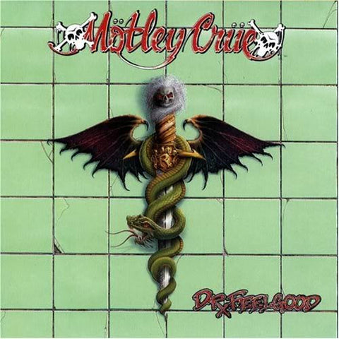 Motley Crue Dr. Feelgood LP 180gm Green vinyl
