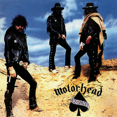 Motorhead Ace of Spades LP vinyl + download code