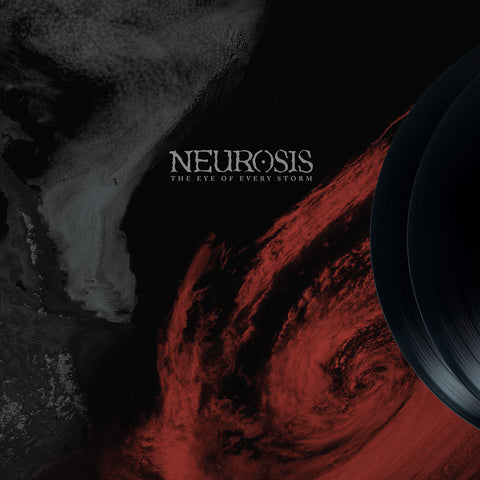 Neurosis - The Eye of Every Storm 2LP 180gm Oxblood Vinyl Deluxe Version in Tip on Stoughton Jacket