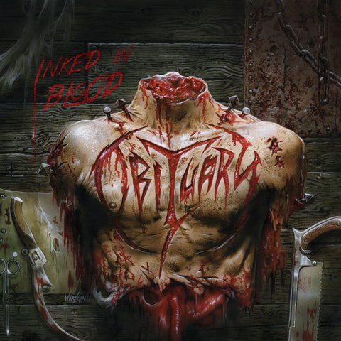 Obituary Inked in Blood 2LP vinyl + download