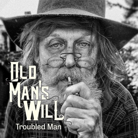 "Old Man's Will Troubled Man 7"" single on Orange Marbled vinyl"