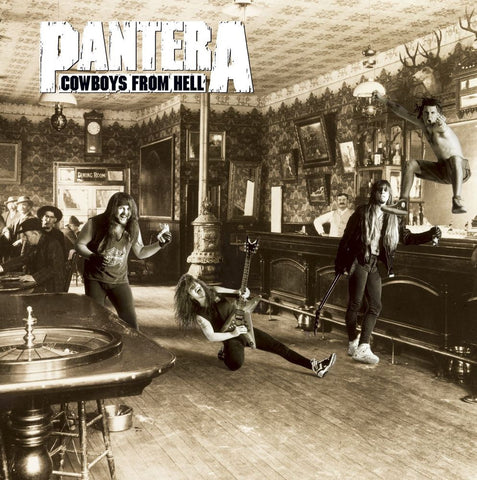 Pantera Cowboys From Hell 2LP 180gm Vinyl gatefold sleeve