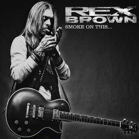 Rex Brown Smoke On This LP vinyl + CD
