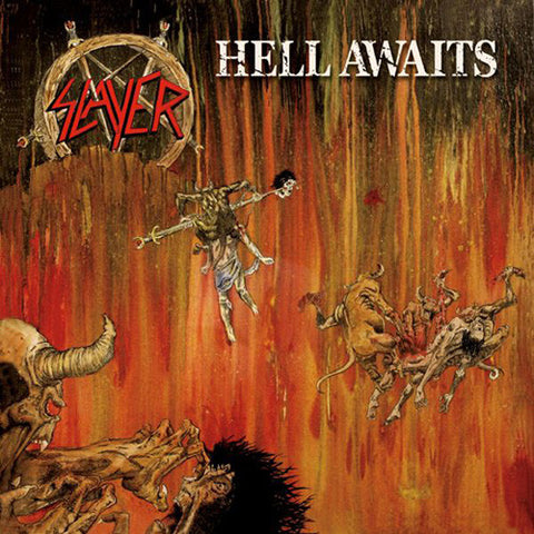 Slayer Hell Awaits LP vinyl + lyric insert + poster