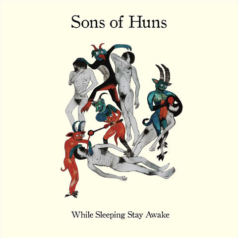 Sons of Huns While Sleeping Stay Awake LP on Yellow vinyl