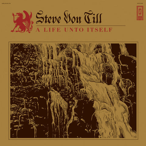 Steve Von Till A Life Unto Itself LP on Red Vinyl