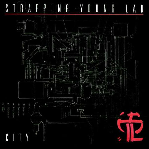 Strapping Young Lad City LP vinyl