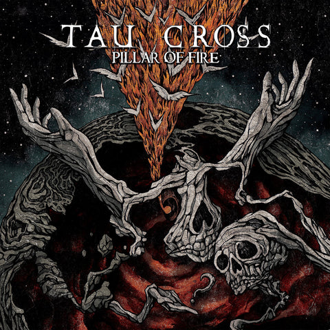 Tau Cross Pillar of Fire 2LP Black vinyl + Download code
