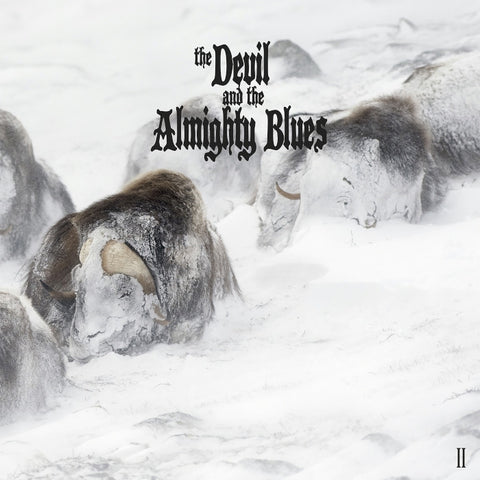 The Devil & The Almighty Blues II LP vinyl + CD