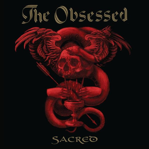 The Obsessed Sacred LP Black vinyl + Download