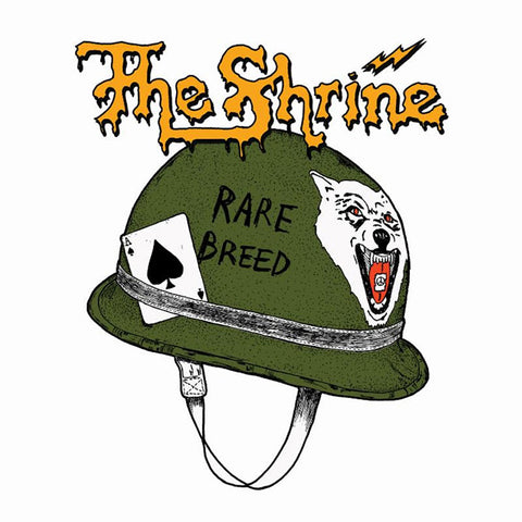 The Shrine Rare Breed LP on 180gm vinyl + CD + patch