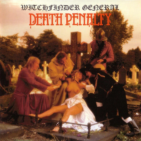 Witchfinder General Death Penalty LP vinyl