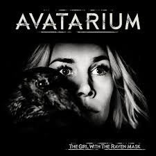 Avatarium The Girl with the Raven Mask 2LP vinyl gatefold sleeve