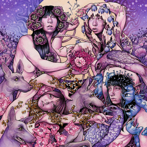 Baroness Purple LP Black vinyl Gatefold + Download