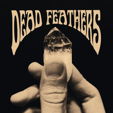 "Dead Feathers Self Titled 10"" EP on Bone White vinyl"