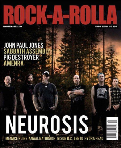 Rock-A-Rolla Magazine Issue 40 Oct/Nov 2012