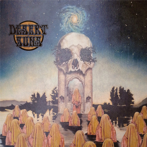 Desert Suns - Self Titled  LP on Clear Gold vinyl