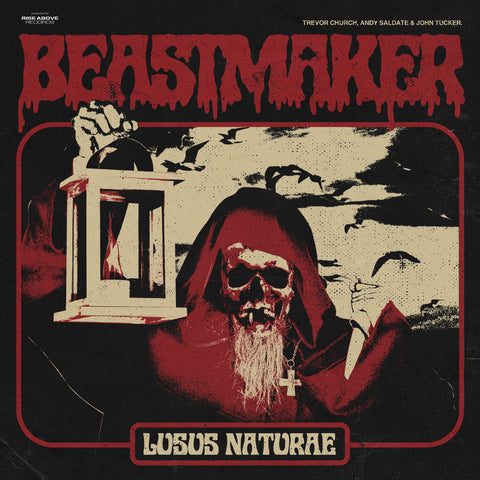 Beastmaker - Lusus Naturae LP on Red vinyl