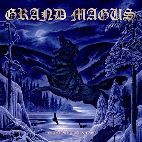 Grand Magus - Hammer of the North LP vinyl in a gatefold sleeve
