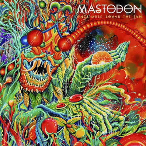 Mastodon - Once More 'Round the Sun 2LP vinyl in gatefold sleeve